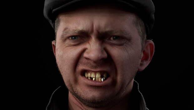 «Чики-Брики»: геймеров завлекли в S.T.A.L.K.E.R. 2  настройкой зубов героев