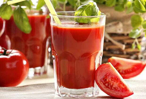 Что будет, если пить томатный сок каждый день