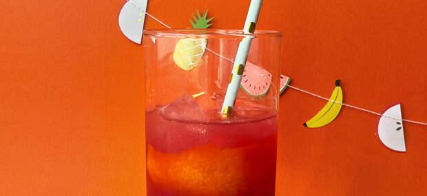 """Простой рецепт: Холодный чай """"Апельсин-гибискус"""""""