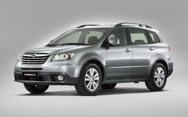 Subaru Tribeca может лишить водителя обзора – отзыв в России