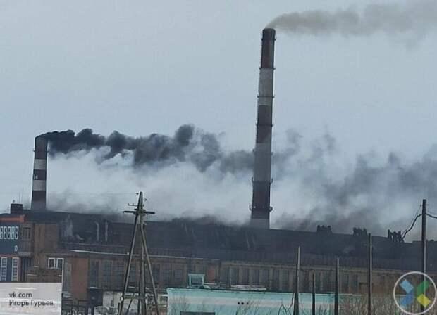 Украина не может сократить химические выбросы предприятий