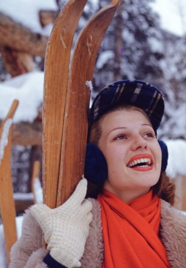 Зимняя Рита Хейворт.
