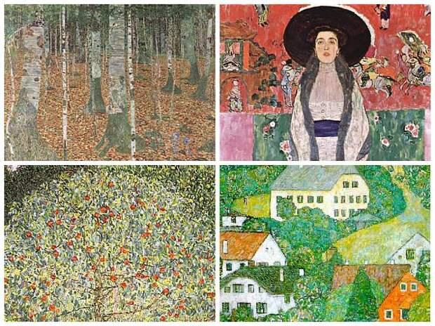 Необыкновенная история одной из самых дорогих картин мира интересная история, портрет адели, климт