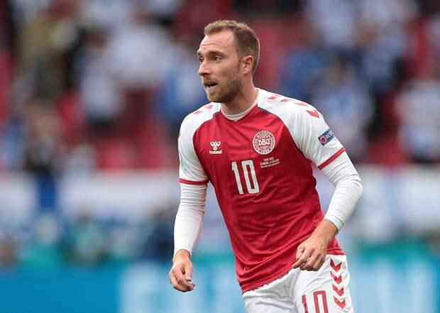 Футболист Эриксен после остановки сердца посетил тренировку сборной Дании