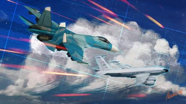 Пользователи Facebook возмущены изображением Су-27 на постере ВВС США