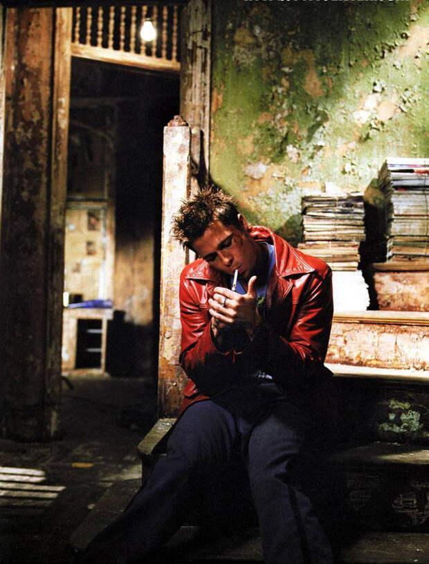 Брэд Питт (Brad Pitt) в фотосессии для фильма «Бойцовский клуб» (Fight Club) (1999), фото 5