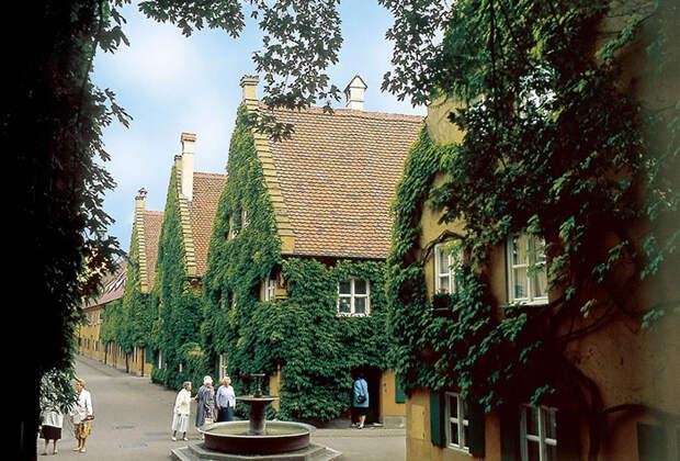 Квартал в Аугсбурге.