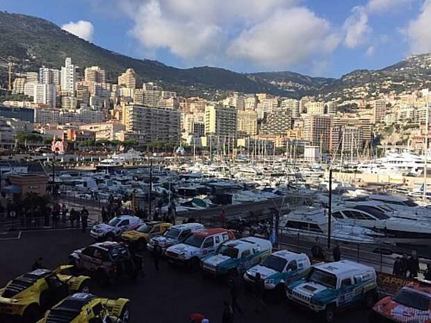 Африка Эко Рейс 2016: из Монако на Розовое озеро