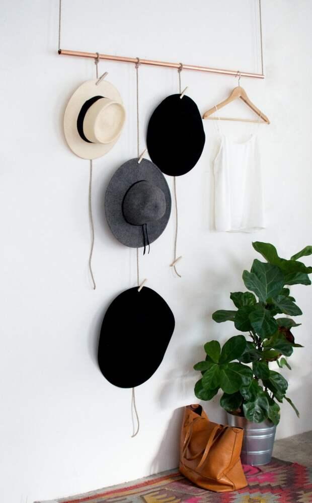 Система для храненения коллекции шляп (Diy)