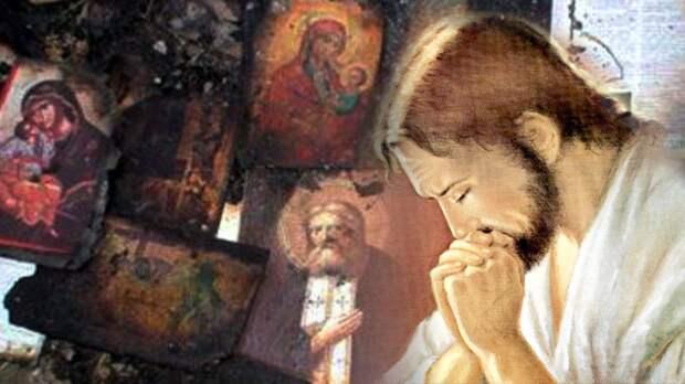Что испытывает Бог, когда наблюдает такое кощунство по отношению к себе.
