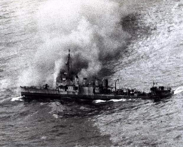 USS BORIE и U-405. Битва на ножах