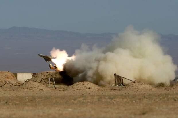 База иракских ВВС «Балад» подверглась ракетному обстрелу