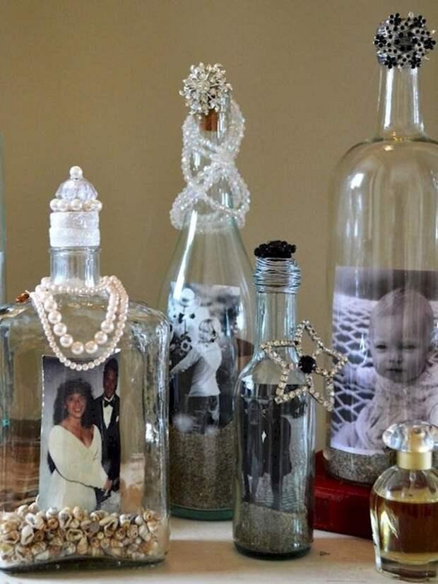 11 способов повторного использования пустых винных бутылок