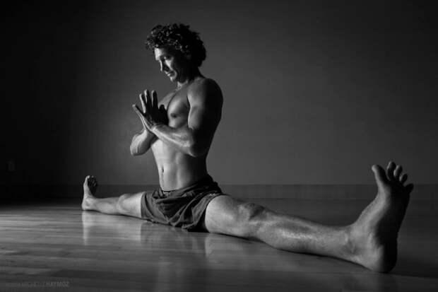 Силовая йога-как они это делают? совершенство, тело, человек