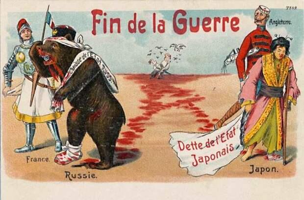 1905 Франция медведь, россия