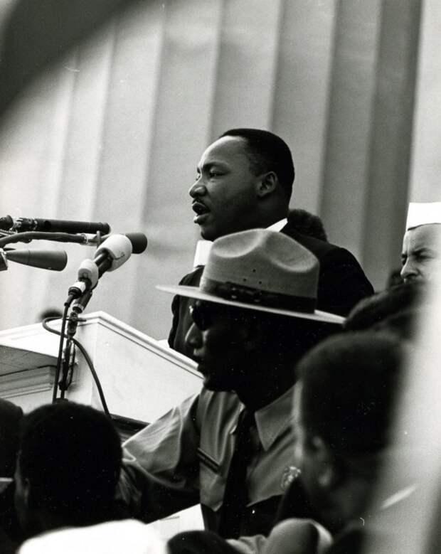Годовщина убийства борца за права чернокожих Мартина Лютера Кинга
