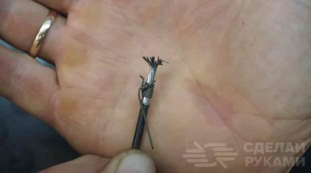 Приспособление для отливки бобышек для троса
