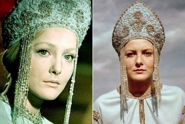 Евгения Филонова в роли Снегурочки, 1968