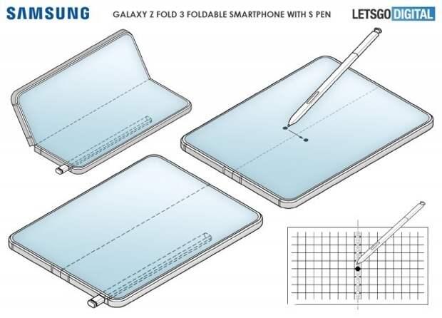 Samsung Galaxy Z Fold 3: слота для стилуса ждать не стоит
