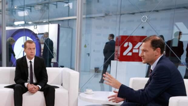 Интервью журналисту ВГТРК Сергею Брилёву