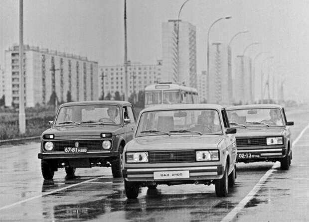 Волжский автомобильный завод,1980 год