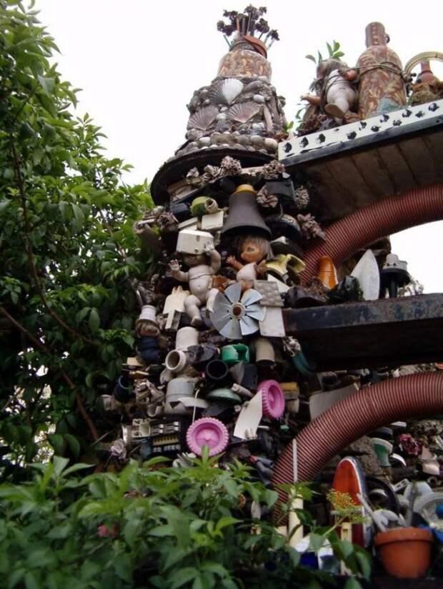Невероятные здания, которые были построены из мусора архитектура, здания, мусор, отходы, факты