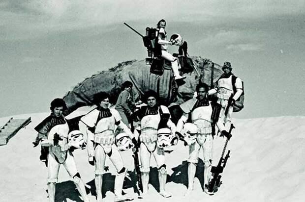 «Звездные войны». Фотографии со съемок
