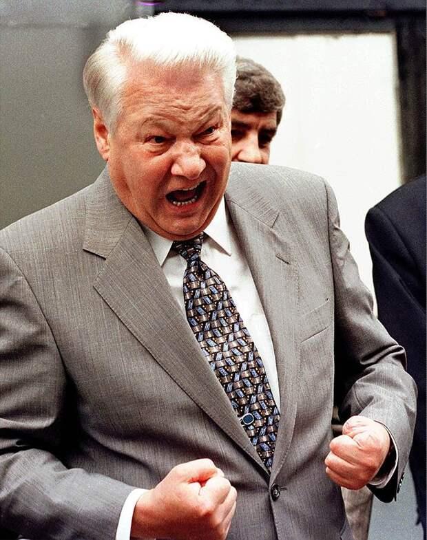 Редкие дебаты Ельцина в ток шоу.