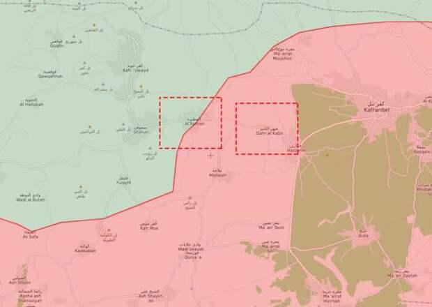 Армия Сирии приподдержке ВКС РФ отбила убоевиков часть Идлиба