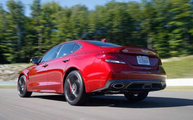 Genesis сделает кроссовер на базе седана G70