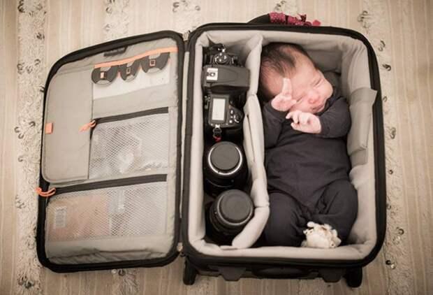 Детки в фотосумках (подборка)