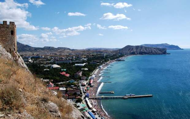 Фотопутешествие по крымскому курорту - Судаку