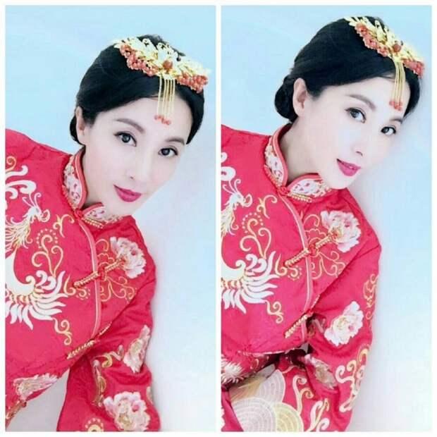 50-летняя «вечно молодая» китаянка раскрыла секрет своей внешности