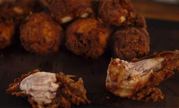 Жарим курицу в муке: хрустящая снаружи и сочная внутри