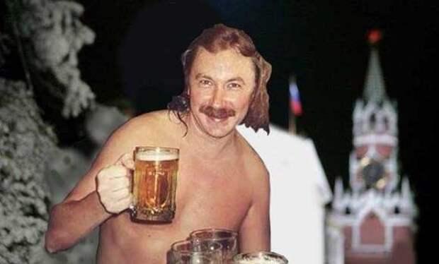Николаев снялся в роли пьющего за любовь жениха
