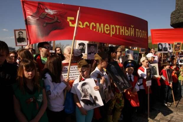Шествие «Бессмертный полк» бьет рекорды по количеству участников