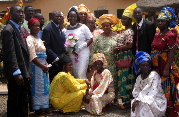 нигерия свадьба