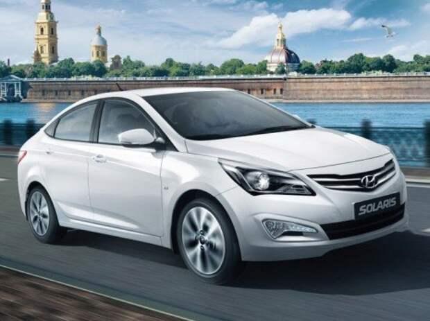 больше всего по этой программе продается автомобилей Hyundai