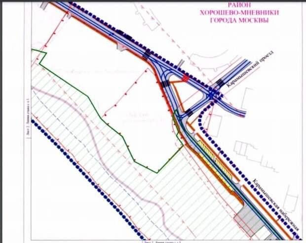 Новый пешеходный переход обустроят в Карамышевском проезде