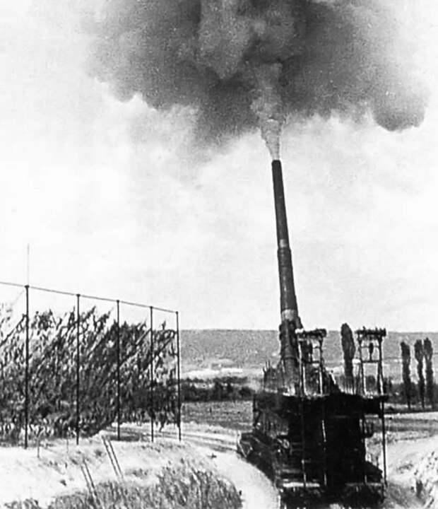 Самая мощная пушка Гитлера. Сверхтяжёлое орудие «Дора»