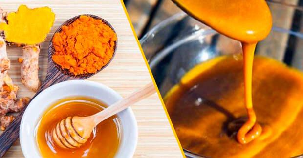 Мед с куркумой: самый мощный антибиотик, влияние которого даже врачи не могут объяснить