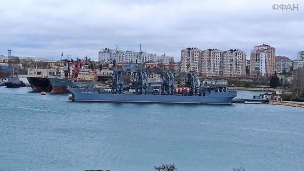 ФАН покажет какие боевые корабли стоят в бухтах Севастополя