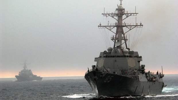 МИД КНР выразил США протест из-за вторжения кораблей в Южно-Китайское море
