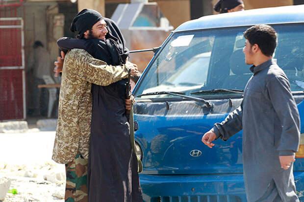 Боевик ИГ в Ракке