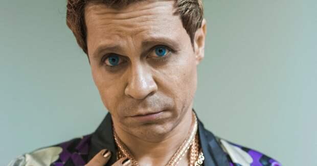 Голубые глаза, золотые волосы: Деревянко удивил новым образом