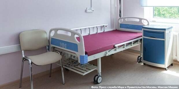 В Москве за сутки госпитализированы 1 тыс 49 пациентов с COVID-19 Фото: М. Мишин mos.ru