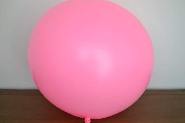 Воздушные шары, украшенные тюлем (Diy)