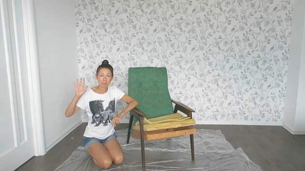 Выбросить может каждый, а переделать — единицы! Переделка кресла из СССР