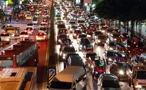 10 городов с ужасающим трафиком