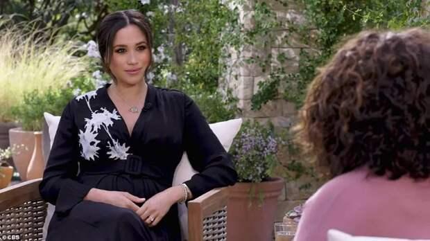 """Первый тизер интервью Меган Маркл и принца Гарри Опре Уинфри: """"Нет темы, которая была бы под запретом"""""""